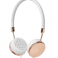 Layla Rose Gold Headphones by Frends - ShopKitson.com
