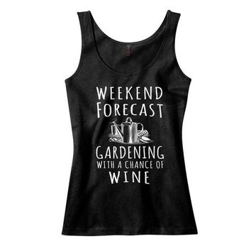 ac NOVO Weekend Forecast: Gardening With a Chance of Wine Tank Top