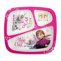 Zak! Designs® Disney® Frozen Divided Kid's Dinner Plate