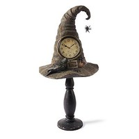 Witch Hat Pedestal Clock