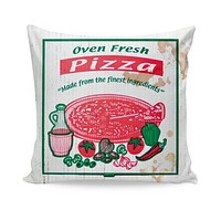 Pizza Box Couch Pillow