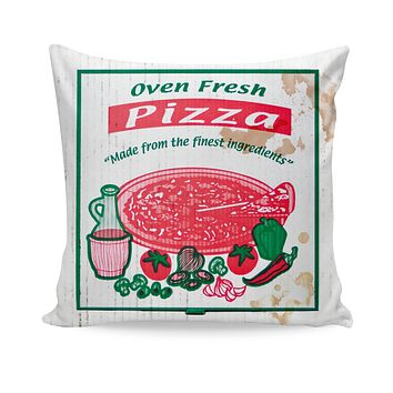 ROCP Pizza Box Couch Pillow