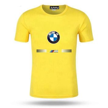 BMW Print Yellow T-Shirt