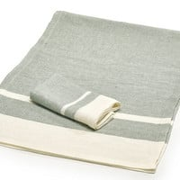 Tennessee Stripe Napkins and Tablecloths by Libeco