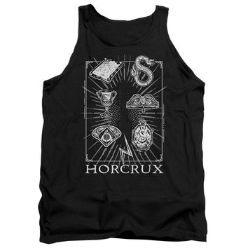 Harry Potter - Horcrux Symbols Adult Tank Top Officially Licensed Apparel