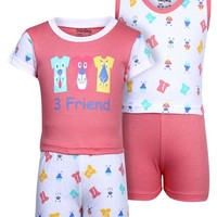 Buy Babyhug 4 Piece Combo Set Friend Print for Boys (2-3 Years) online in India at best price from FirstCry.com. ✓ Free Shipping ✓ 30 Days Return ✓ COD options available.
