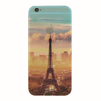 Eiffel Tower iPhone 5S 6 6S Plus creative case + Gift Box-127