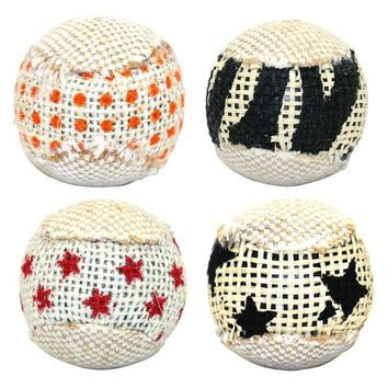 Chewing Rattle Scratch Catch Pet Ball