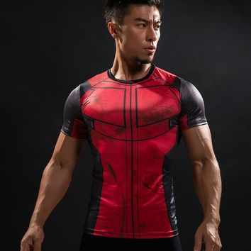 Deadpool Dead pool Taco Fun  Shirt Tee 3D Printed T-shirts Men Fitness Clothing Male Tops Funny T Shirt Superman  Costume Display AT_70_6