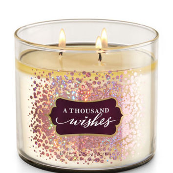 A Thousand Wishes 3-Wick Candle | Bath And Body Works