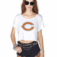 Chicago Bears 2 868 Crop Shirt , Custom Crop Shirt , Woman Crop Shirt