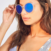 Super Slim Round Sunglasses | Urban Outfitters