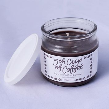 5th Cup of Coffee Soy Candle