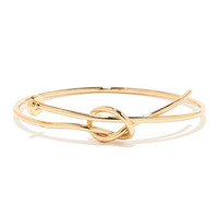On Pinpoint Gold Nail Bracelet