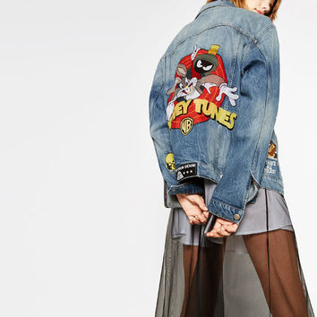 LOONEY TUNES DENIM JACKETDETAILS