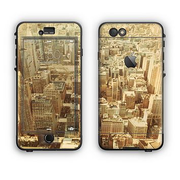 The Vintage Photo of the City Apple iPhone 6 Plus LifeProof Nuud Case Skin Set