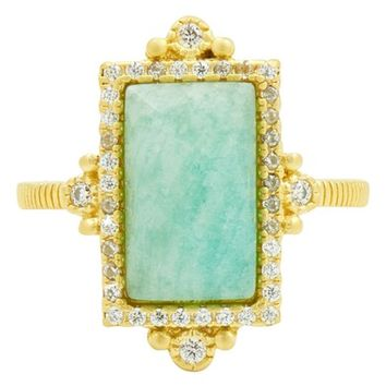 FREIDA ROTHMAN Amazonite Allure Cocktail Ring | Nordstrom