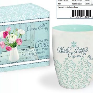 Bless the Lord Mug in Gift Box