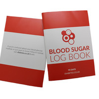 90 Day Blood Glucose Log Book (Pack of 2)