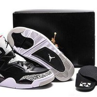 Cheap Air Jordan Son Of Mars Low Shoes Black White Red