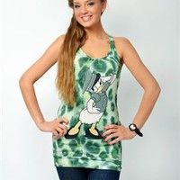 Italian Think Daisy Duck Tank Made In Italy - Women's Apparel by Gianfranco Ferre, Antonio Albanese and more - Modnique.com