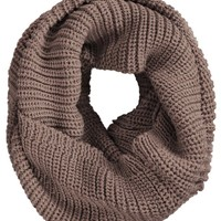 Chunky Thick Knitted Winter Infinity Circle Scarf