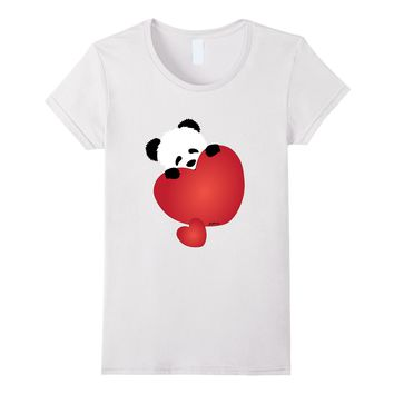 Panda T-shirt - I Love You - Cute Valentine's Day Panda
