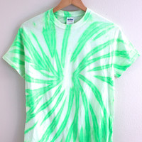 NEON COLLECTION: Mint Tie-Dye Unisex Tee