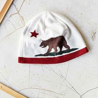 Patagonia California Bear Beanie- White One