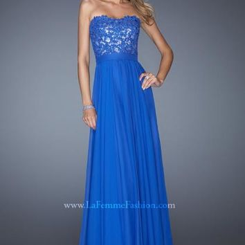 La Femme 19834 at Prom Dress Shop