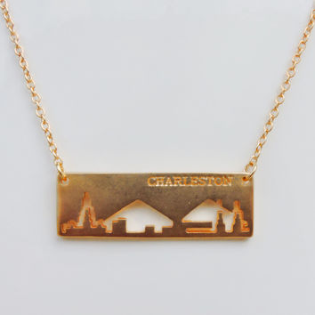 Charleston Skyline Necklace