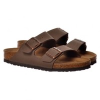 Birkenstock Arizona Birkoflor -MOCCA BLUE WHT BLK AMAZON - Birkenstock from Onlineshoe UK