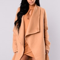 Manhattan City Coat - Khaki