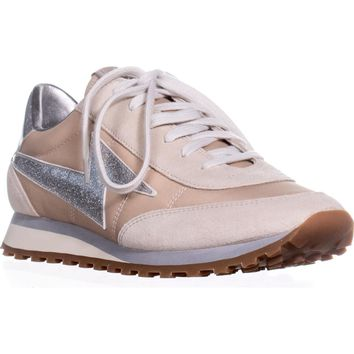 Marc Jacobs Astor Lace Up Fashion Sneaker, Nude, 10 US / 40 EU
