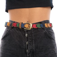 Vintage 90's The Rainbow Fish Belt - One Size Fits Many