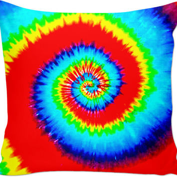 Tie Dye Couch Pillow