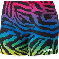 ASICS Pixel Rainbow Volleyball Spandex Short