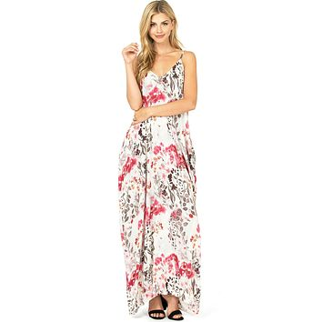 Mellow Floral Maxi Dress