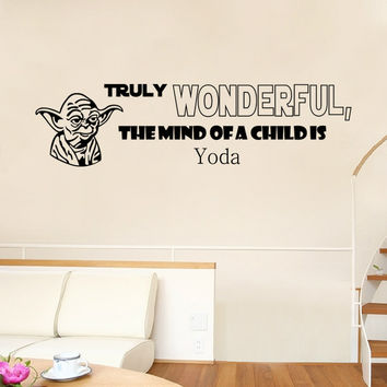 Stylish Star Wars Wall Sticker (42*25cm) = 4149968580