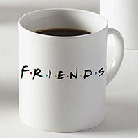 Friends Logo for Mug Cup Two Sides 11 Oz Ceramics