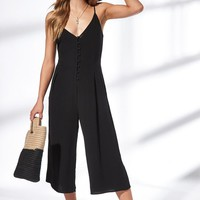 Kendall and Kylie Button Front Jumpsuit at PacSun.com