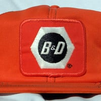 Reserved- Vintage Snap Back Trucker Hat - B & D