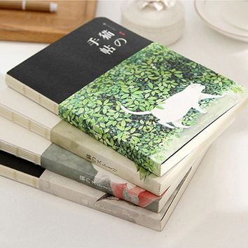 Sketch Book for Drawing 80 Sheets Sketchbook Watercolor Paiting School Notebook Paper office School Supplies Gift