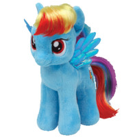 Rainbow Dash in Ty Store