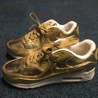 Nike Gold Athletic Shoes 59% off retail
