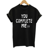 ONETOW New You Complete Mess Me 5SOS Shirt Five 5 Seconds Of Summer T Shirt T-shirt Luke Hemmings women Clothing