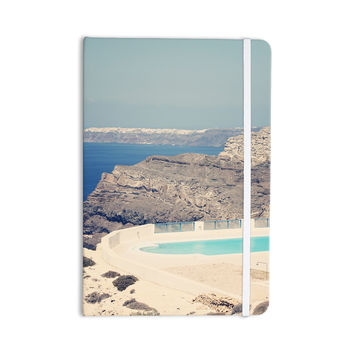 """Sylvia Coomes """"Greek Paradise"""" Blue Tan Everything Notebook"""