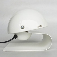 Guzzini Bugia Table Lamp / Bedside Light / iGuzzini Meblo Lamp / Design Classic Lighting / White