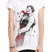 DC Comics Harley & The Joker Hug Girls T-Shirt