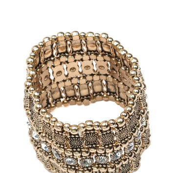 Empress Me Stretchy Beaded Bracelet